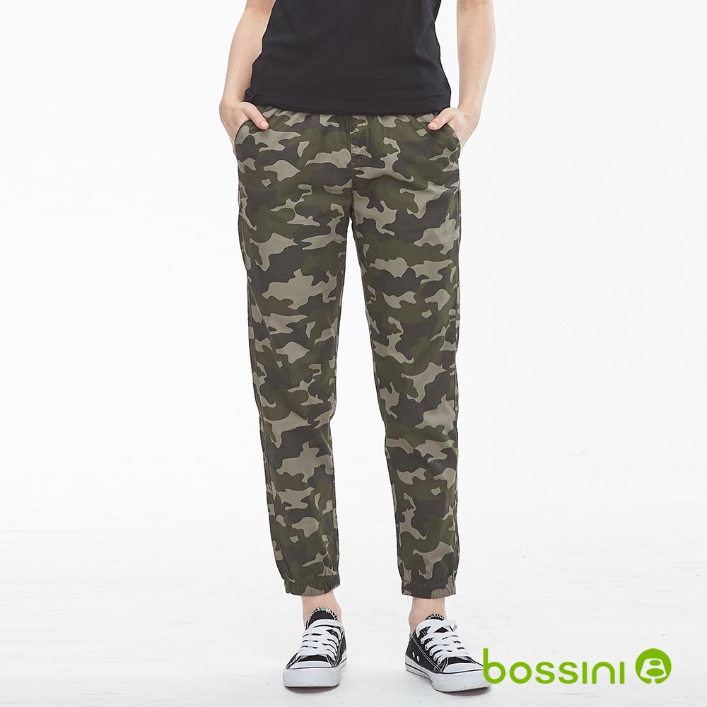bossini女裝-輕鬆束口長褲02橄欖綠
