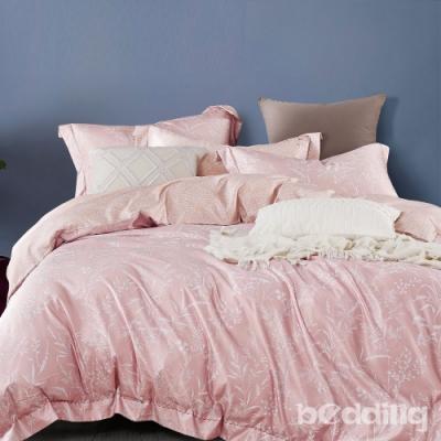 BEDDING-3M專利+頂級天絲-加大雙人鋪棉六件式床罩組-言葉