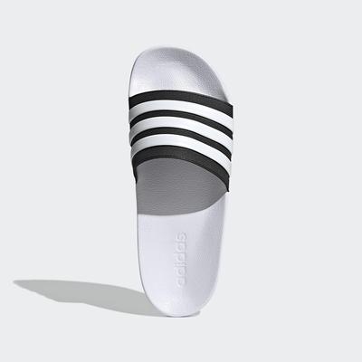 ADIDAS 愛迪達 拖鞋 男鞋 運動 白 GZ1009 ADILETTE SHOWER SLIDES