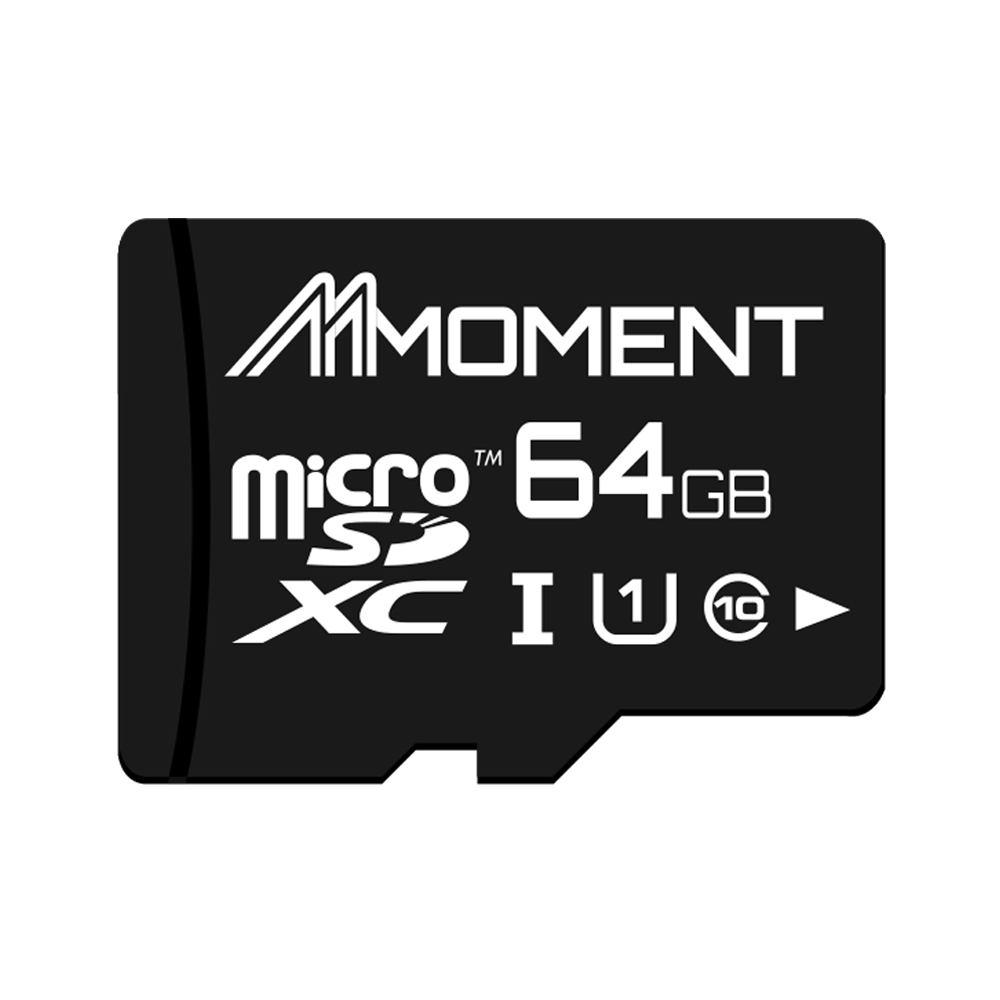 【MOMENT】64GB UHS-1 micro SDHC 記憶卡