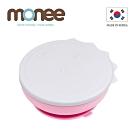 韓國monee 100%白金矽膠恐龍造型可吸式餐碗附蓋/4色
