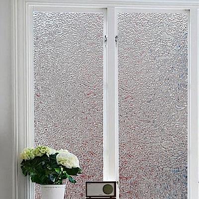 半島良品 無膠玻璃靜電貼-冰塊45x200cm