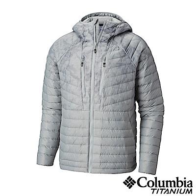 Columbia哥倫比亞 男款-鈦 羽絨外套-灰色 UWE08660GY