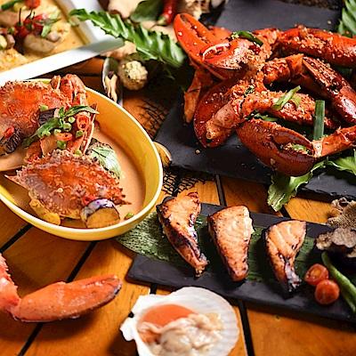 台北W飯店 2人海鮮之夜自助晚餐吃到飽