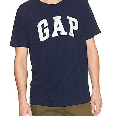 GAP 男生 短袖 T恤 藍 0866