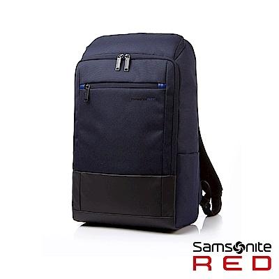 Samsonite RED BREDLE 輕量流行筆電後背包15.6(海軍藍)