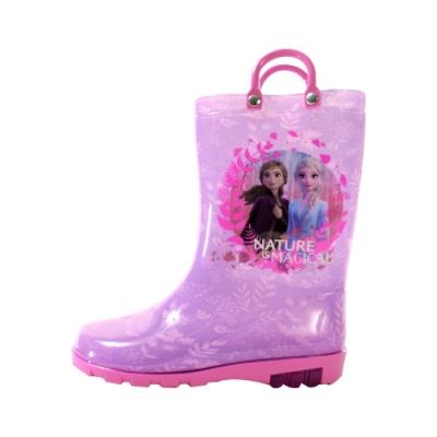 台灣製迪士尼冰雪奇緣長筒雨鞋 sa04607 魔法Baby
