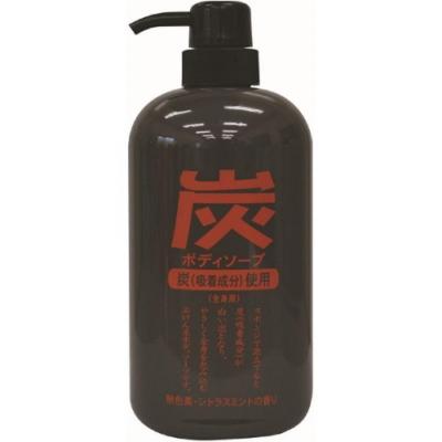日本 純藥 炭沐浴乳
