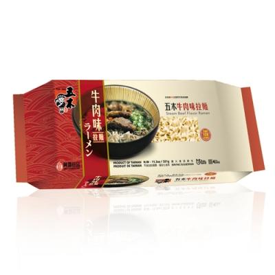 五木  牛肉味拉麵(321g/包)