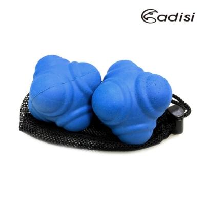 ADISI 六角反應球 AS17059 2入一組(橡膠.皮拉提斯.體適能.無毒.環保)