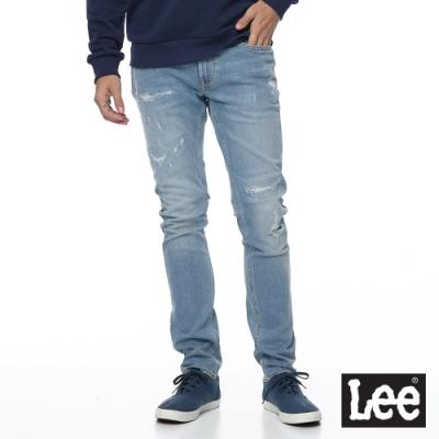 Lee 牛仔褲 709 低腰合身小直筒 男 淺藍 彈性