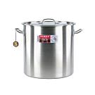ZEBRA斑馬28公分不鏽鋼深型滷桶/湯鍋(28x28cm/17.2L)