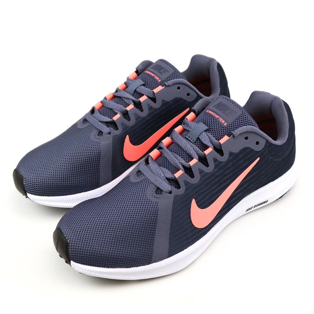 NIKE DOWNSHIFTER 8 女跑步鞋 908994005 藍灰