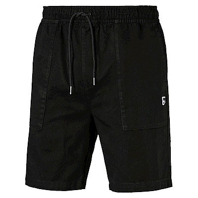 PUMA-男性流行系列Downtown短褲-黑色-歐規