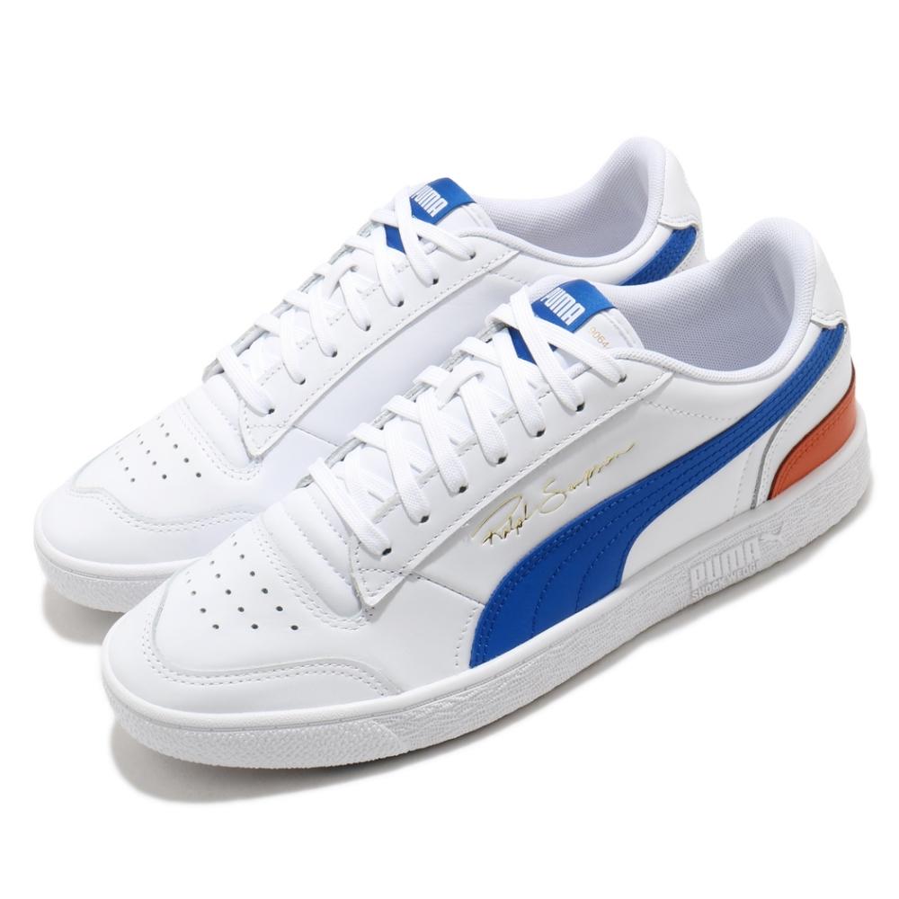 Puma 休閒鞋 Ralph Sampson 運動 男鞋 簡約 舒適 球鞋 穿搭 皮革 質感 白 藍 37084617