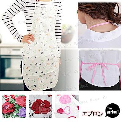 【超值6入】日韓 輕量型拋棄式圍裙 免洗 防水圍裙 kiret