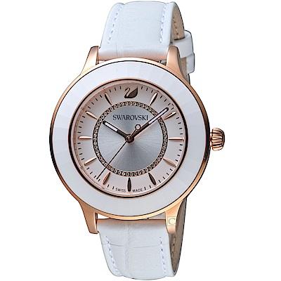 SWAROVSKI施華洛世奇Octea Lux現代時尚腕錶(5414416)-白