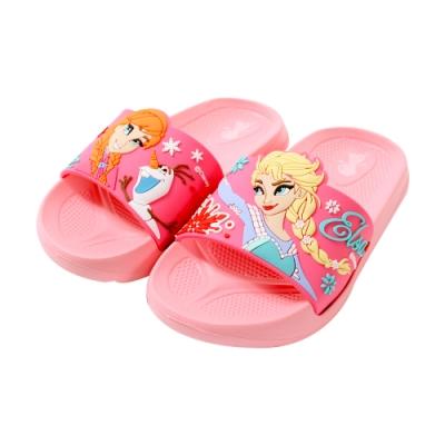 台灣製迪士尼冰雪奇緣美型拖鞋 sa94013 魔法Baby