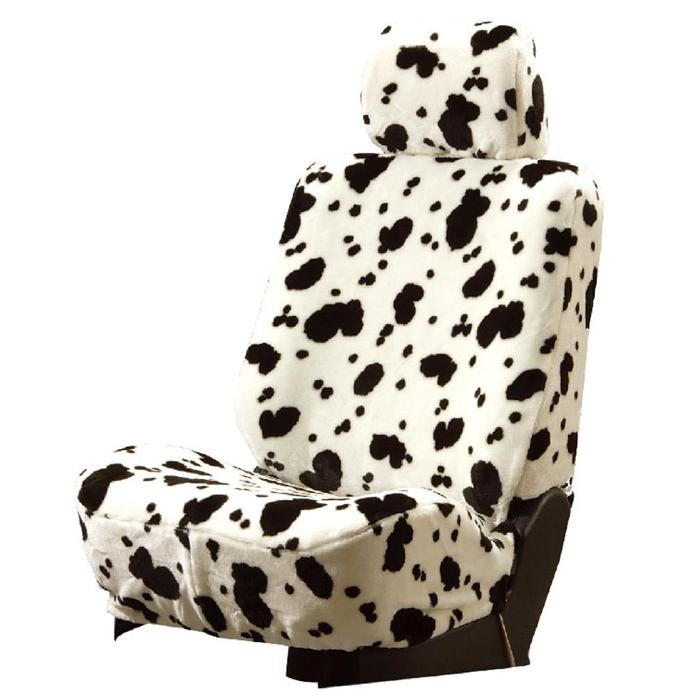 【葵花】量身訂做-汽車椅套-絨布-乳牛-休旅車-9人座款1-3排