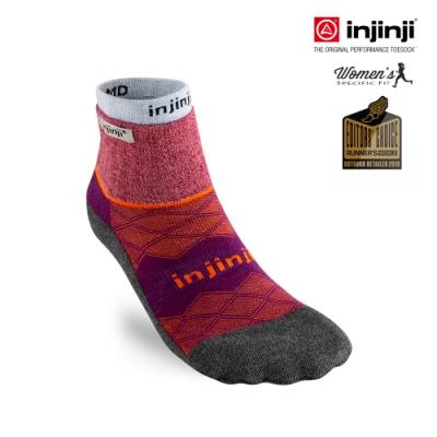 【INJINJI】Liner+Runner女款全方位防護跑襪組 [野莓紅]