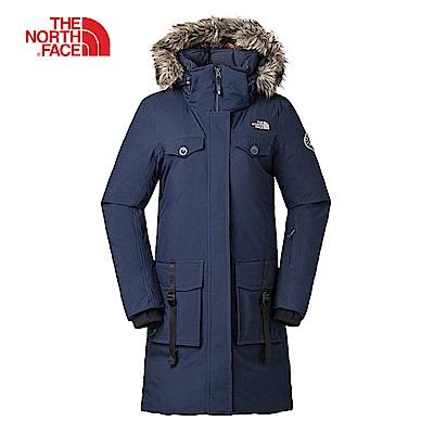The North Face北面女款藍色防水保暖羽絨外套| 3 L 7 HH 2 G