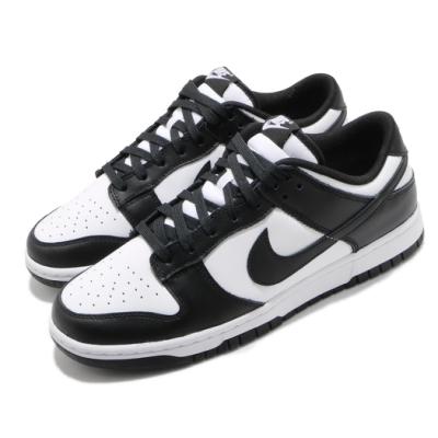 Nike 休閒鞋 Dunk Low Retro 運動 男鞋 經典款 簡約 皮革 質感 球鞋 穿搭 黑 白 DD1391100