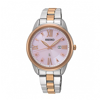 SEIKO LUKIA優雅時分廣告款太陽能腕錶/SUT362J1/V137-0DC0KS