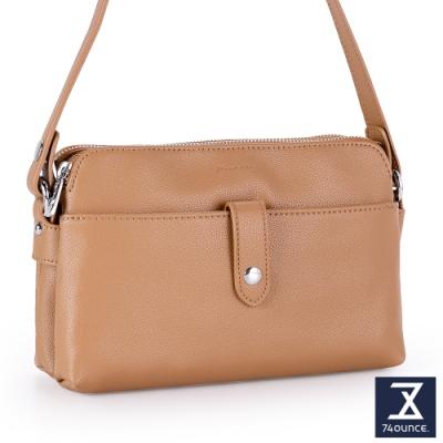 74盎司 Fashion優雅雙層兩用包[LG-895-FA-W]駝