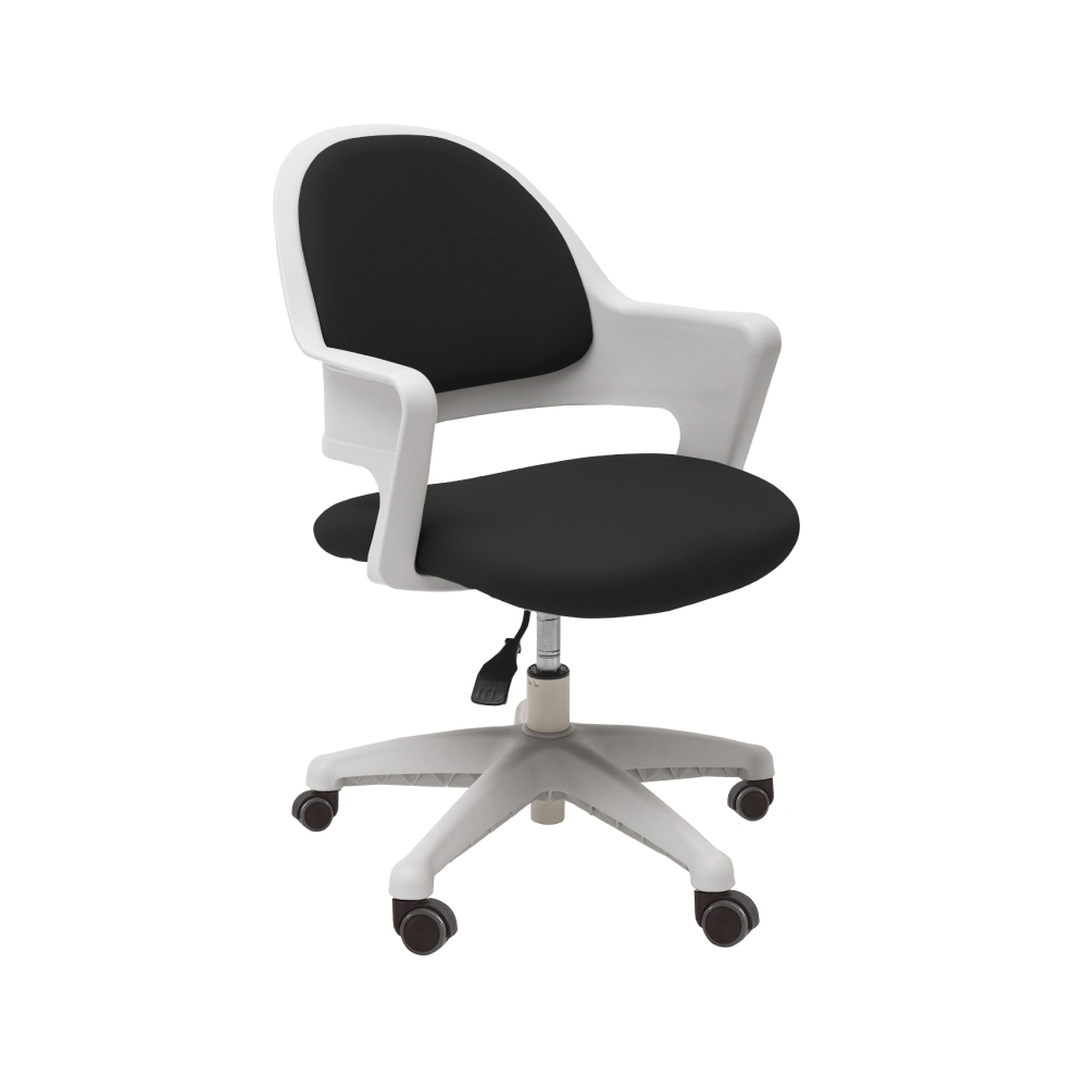 完美主義 韓國製弧形美背電腦椅/辦公椅/書桌椅(2色)-DIY product image 1