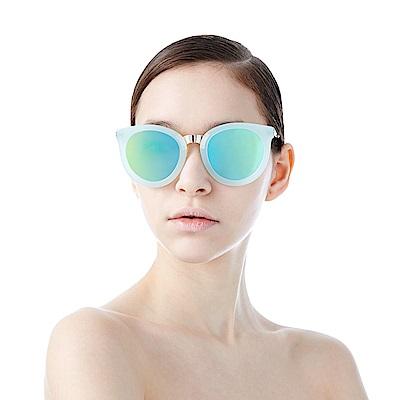 BVH 壓克力金屬拼接太陽眼鏡HAELLCol-5