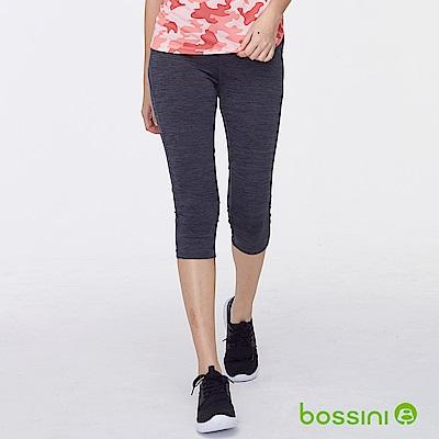 bossini女裝-速乾七分運動褲01鐵灰