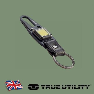 【TRUE UTILITY】英國多功能充電型LED鈕扣燈鑰匙圈CLIPLITE