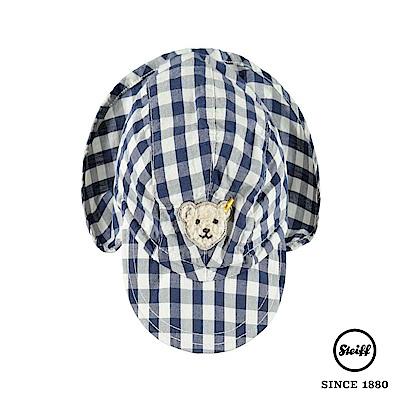 STEIFF德國精品童裝 格紋熊熊遮陽帽