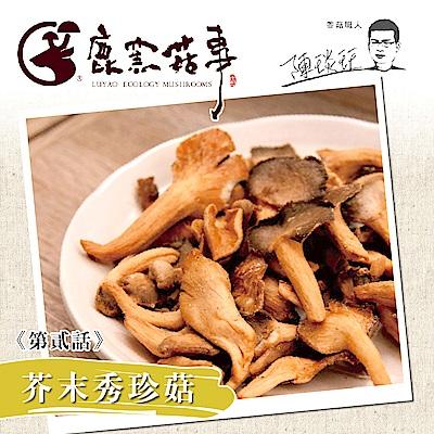 鹿窯菇事 芥末秀珍菇餅乾(全素)(70g/盒,共兩盒)