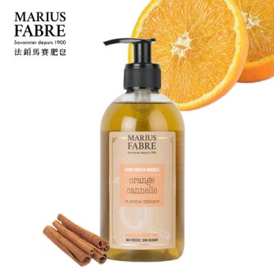 法國法鉑-甜橙草本液體皂-400ml-瓶