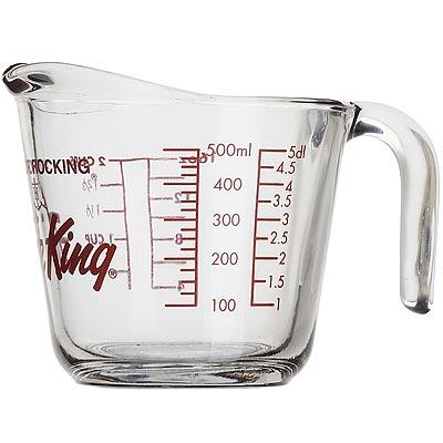 《FOXRUN》Anchor握柄耐熱玻璃量杯(500ml)