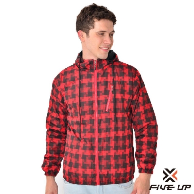 【FIVE UP】男款中厚雙面穿外套-紅