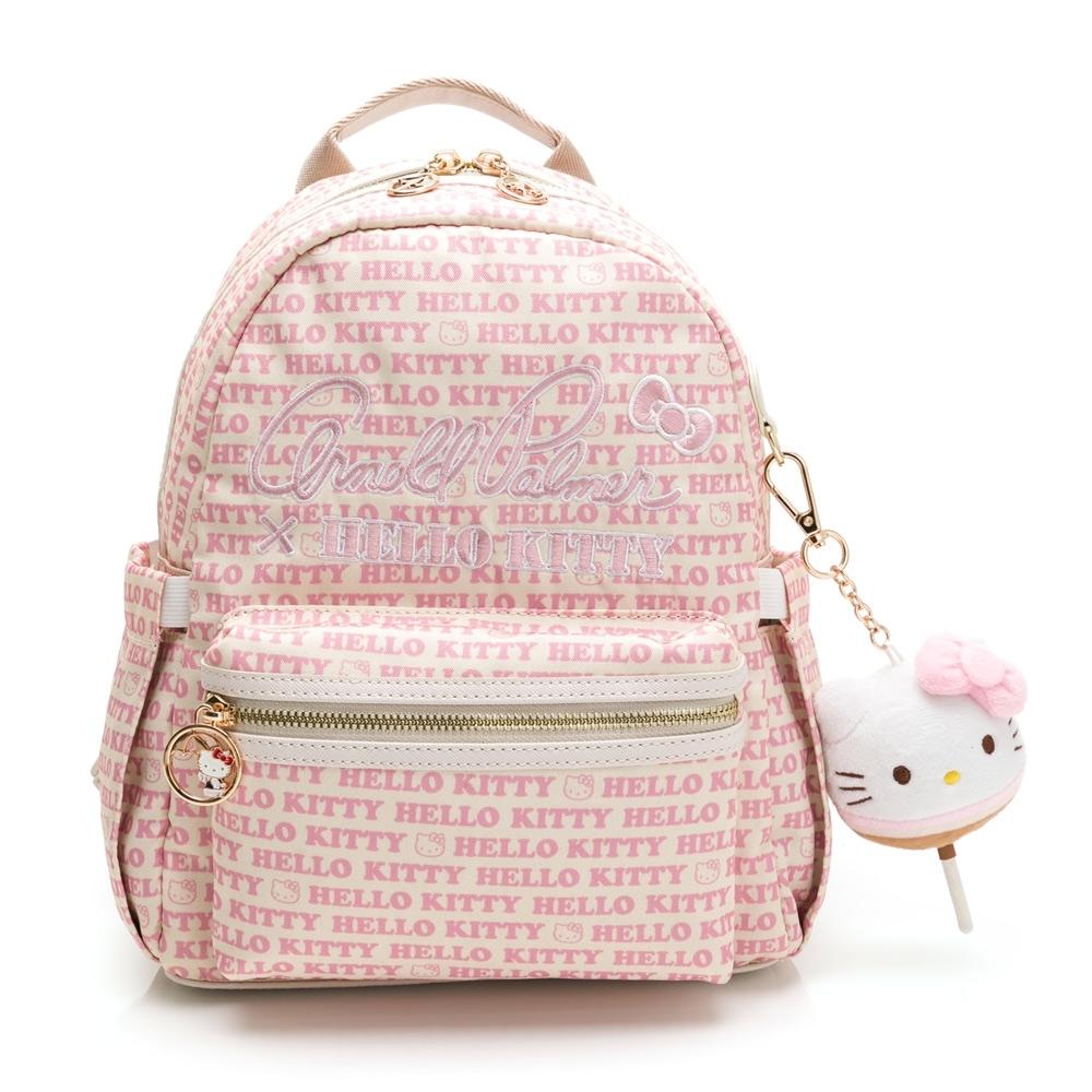 Arnold Palmer -Kitty聯名- 後背包 LOLLIPOP GIRL棒棒糖女孩系列-粉色