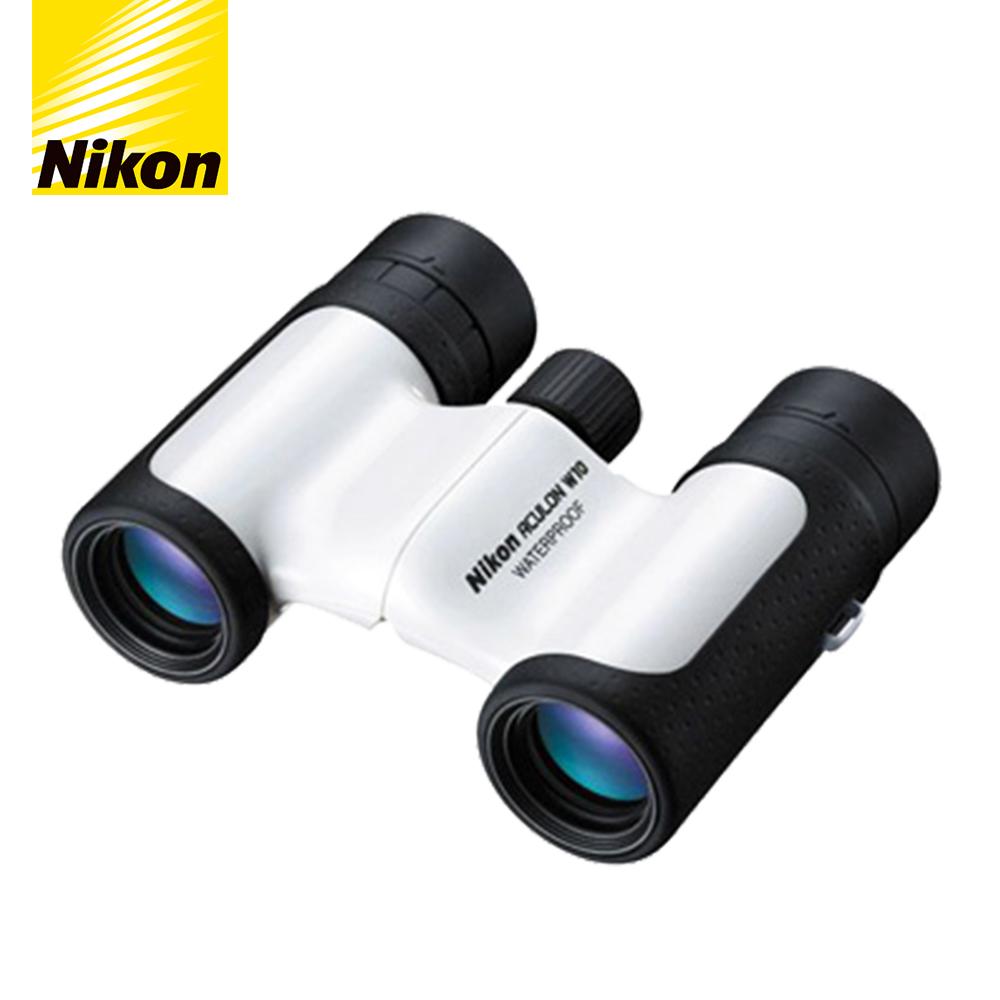 NIKON ACULON W10-10X21防水雙筒望遠鏡(白)
