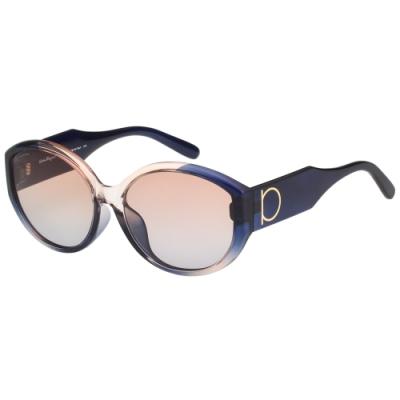 Salvatore Ferragamo 太陽眼鏡 (粉加藍色)