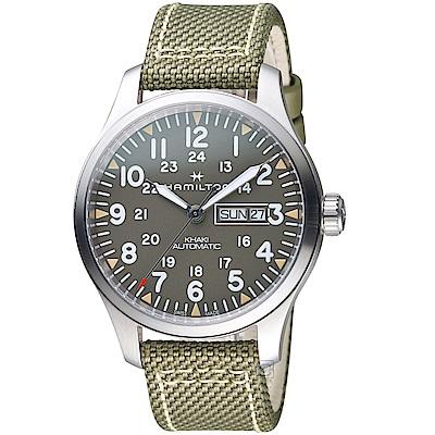 Hamilton漢米爾頓卡其野戰系列時尚腕錶(H70535081)