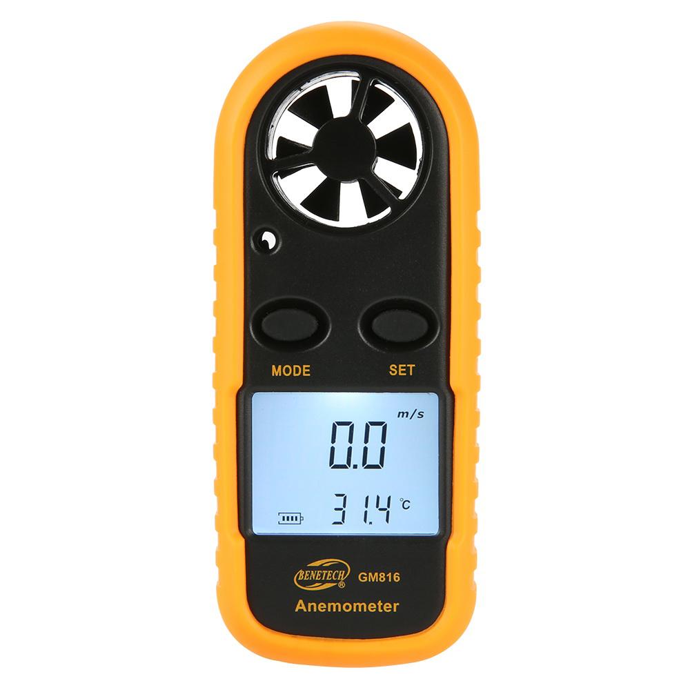 標智 GM816 掌上型 風速計 風速儀 溫度計