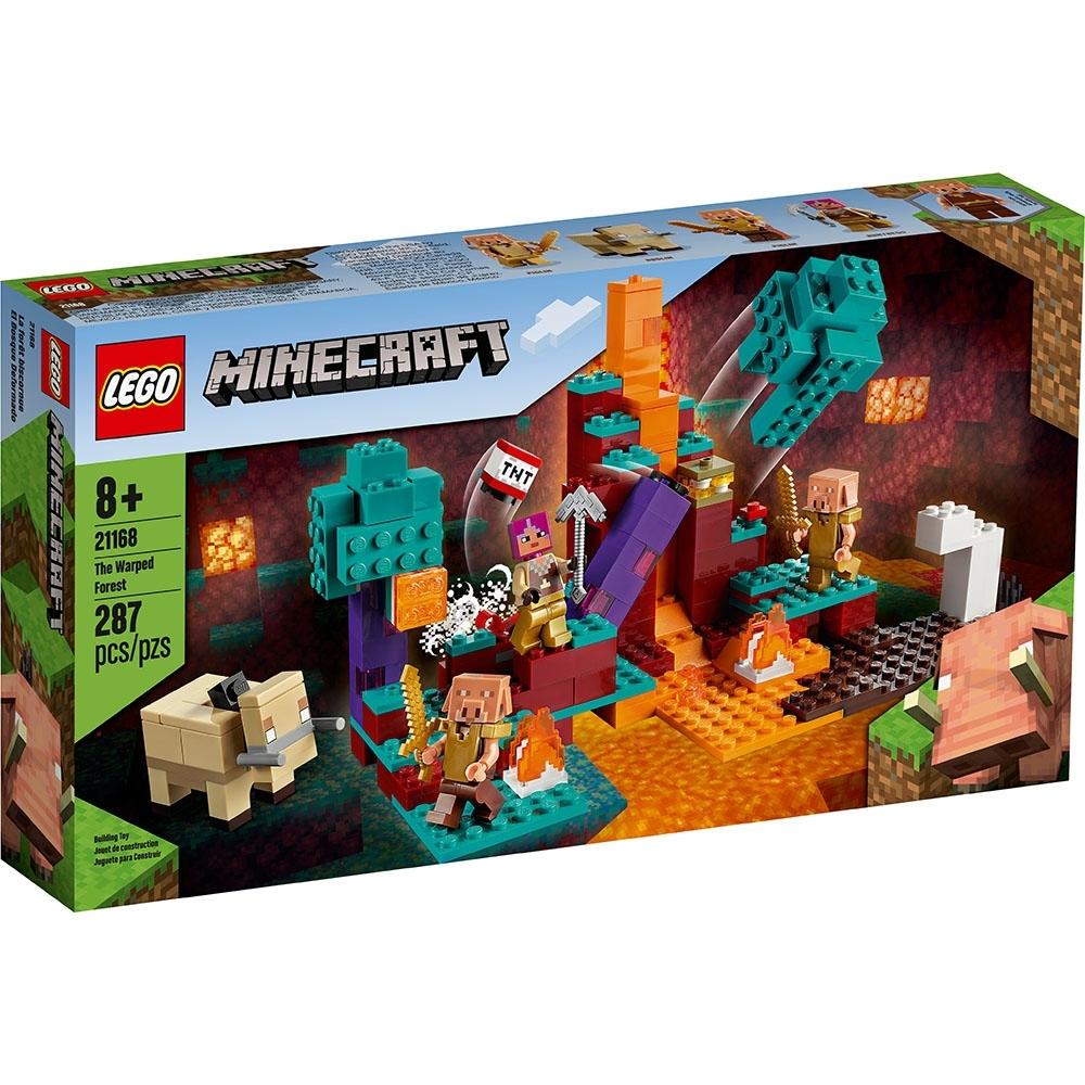 樂高LEGO Minecraft系列 - LT21168 The Warped Forest