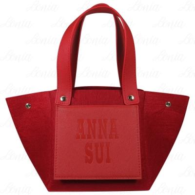 ANNA SUI 安娜蘇 紅色經典時尚提袋