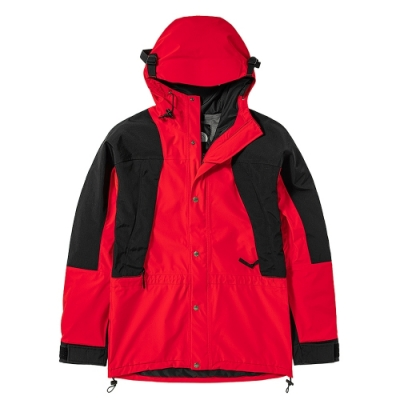 The North Face 經典ICON 男女防水透氣連帽衝鋒衣 紅-NF0A4R52R15
