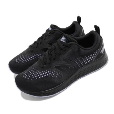 New Balance 慢跑鞋 Fresh Foam 寬楦 運動 女鞋 紐巴倫 輕量 透氣 舒適 避震 路跑 黑 紫 WARISRB3D