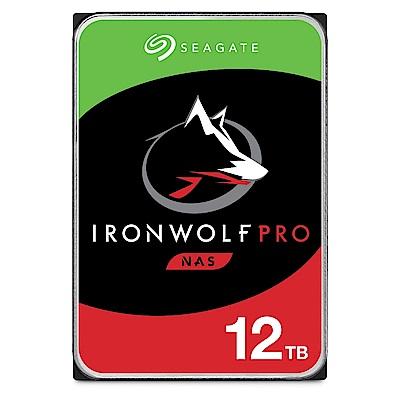 Seagate IronWolf Pro 12TB NAS專用碟ST12000NE0008(三年資料救援)