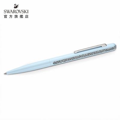 施華洛世奇 CRYSTAL SHIMMER 海藍色水晶圓珠筆