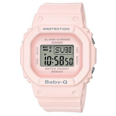 BABY-G 街頭時尚運動風格腕錶-粉(BGD-560-4D)/26mm