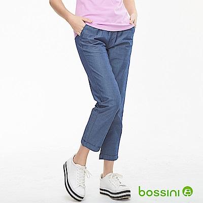 bossini女裝-輕鬆長褲02牛仔藍